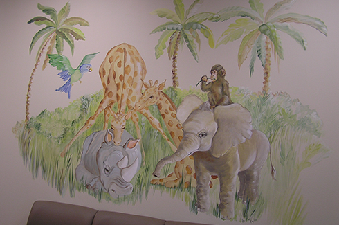 Pediatric Office Mural Artist Orlando