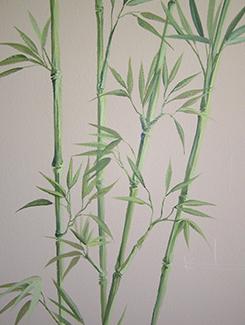 Beautiful Dining Room Bamboo