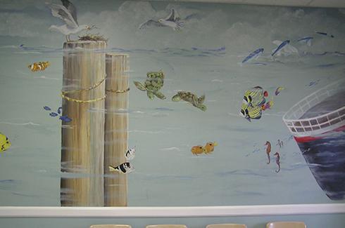 Hospital Mural Artist Lake Mary FL