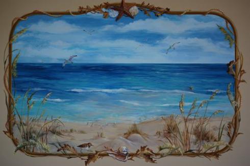 Custom Beach Scene