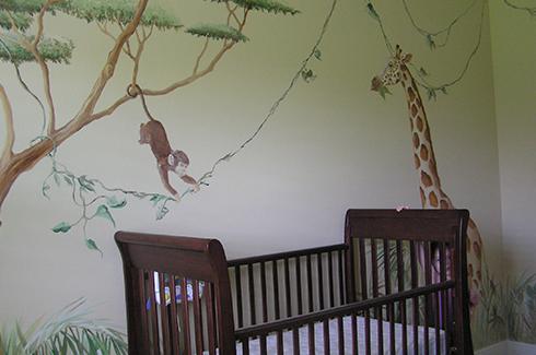 Jungle Wall Mural Orlando FL