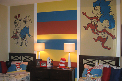 Dr. Suess Wall