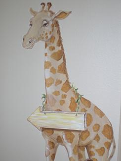 Giraffe Gives Direction