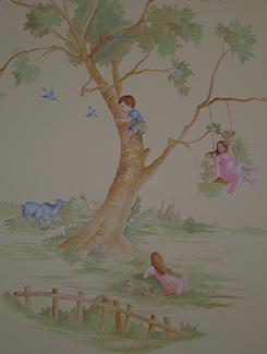 Restful Nursery Scene